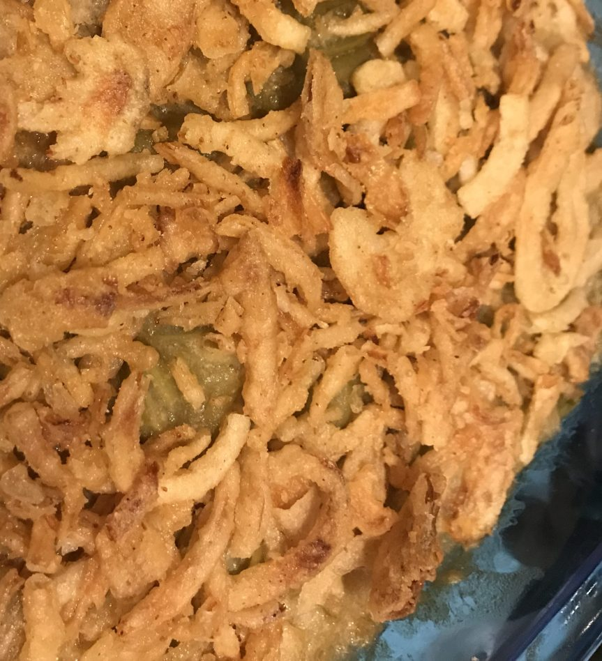 Green Bean Casserole – Vegan