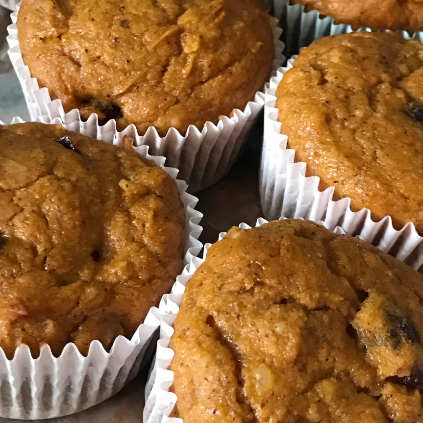 Spiced Pumpkin Muffins – Gluten-Free &Dairy-Free