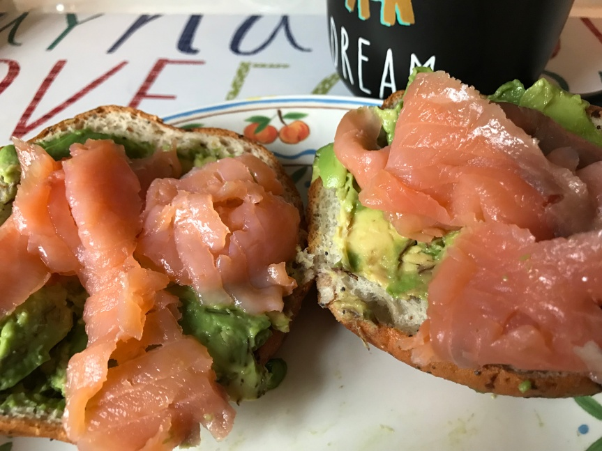 Avocado & Smoked Salmon Bagel – Gluten-Free &Dairy-Free