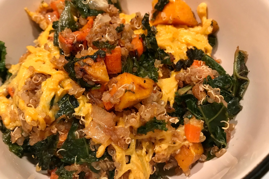 Vegetables, Kale, & QuinoaBake