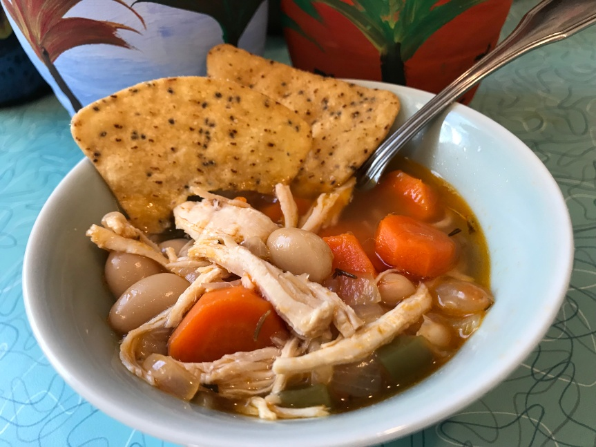 Instant Pot Great Northern Bean Chicken Soup