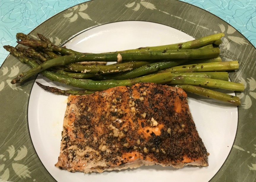 Easy Salmon & Asparagus inFoil